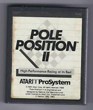 ATARI 7800 Pole Position 2 vintage game Cart