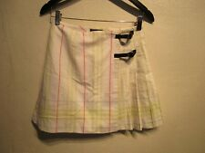 Burberry Girl Kids Skirt size 14 with beltPleated pastel color