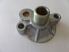 SBC / BB CHEVY OIL FILTER ADAPTER SPIN ON CHECK VALVE BYPASS