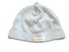 H & M süße Mütze Gr. 56 / 62 hellblau-weiß geringelt !!