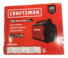 Craftsman CMXGIAC3000 GasInverter Generator 2300 Running Watts