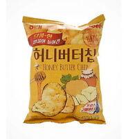 Calbee Haitai Bite Sized Honey Butter Seasoned Potato Chips 60g Korean Snack