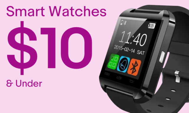 Smart Watches under $10.00