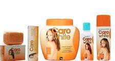 Caro White Set, Lotion 300ml, Cream 500ml, Soap 180g, Oil 50ml, Cream(Tube)30ml