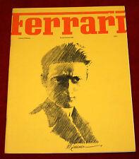 Ferrari Owners Club monthly Newsletter January/February 1975