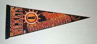 1994 Houston Rockets NBA World Champions pennant Hakeem Olajuwon Clutch City