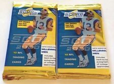 2000 SCORE NFL Football Pack Possible Tom Brady Rookie Card Scorecard Patriots