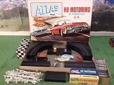 NMIB Atlas Motoring Vintage Original T Jet Slot Car Race Track Set