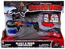 How to Train Your Dragon Dragons Blast & Roar Toothless Electronic Action Figure