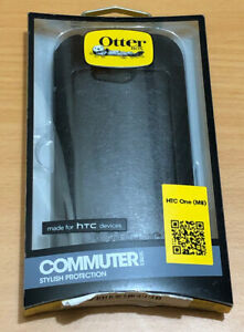 New Genuine OtterBox Commuter Series Case for Htc One (m8) Black