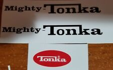 """MIGHTY TONKA WITH THE RED LOGO """"DUMP TRUCK"""