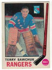 1969-70 OPC NHL #189 Terry Sawchuck HOF