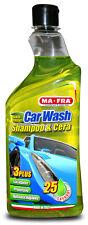 MAFRA Shampoo & Cera ad alte prestazioni.Ideale per pulizia esterni auto.