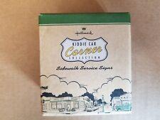 Hallmark Kiddie Car Corner Service Signs - Accessories for Kiddie Car Classics