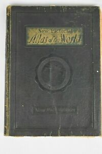 New Pictorial Atlas of the World 1931 Edition