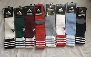 Adidas Soccer Crew Socks, Size M, L, Multi Color, Athletic, Gift, Climalite S15