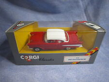 ZA145 CORGI CLASSICS CHEVROLET BEL AIR 1957 1/43 825 NB