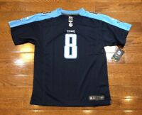 Youth XL Marcus Mariota Nike On Field Jersey Tennessee Titans NFL
