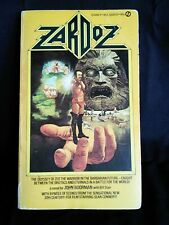 Zardoz Book, 1st Ed, Paperback, Sean Connery