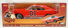 Auto World General Lee 1969 Dodge Charger Dukes of Hazzard #AMM964 New NRFP 1:18