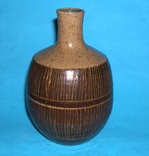 STUDIO POTTERY-Attraente Qualità Rotondo Collo di bottiglia vaso inscritto Linea Design