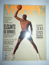 Magazine mode fashion VOGUE HOMMES #162 septembre 1993 Michael Jordan