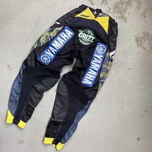 Josh Grant's Custom Race Worn 2013 Thor Racing Core Yamaha Motocross Pants - fox