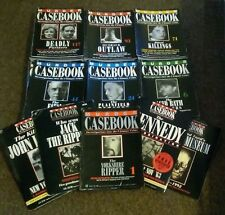 MURDER CASEBOOK - 150 MAGAZINES + 4 SPECIALS - COMPLETE PDF COLLECTION ON DVD