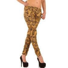 Markenlose Coloured Damen-Jeans im Boyfriend-Stil