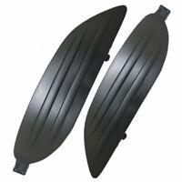 2x Light Fog Light Grille Cover Black New Fits For Toyota Corolla Sedan 05-08