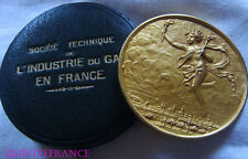MED6067 - MEDAILLE SOC TECH. INDUSTRIE DU GAZ EN FRANCE - DIPLOME DE GUERRE 1919