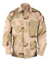 HUNTING AIRSOFT RIP PERIMETER INSECT GUARD USGI JACKET Desert Camo DCU Jacket