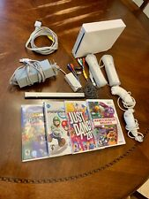 Nintendo Wii Console, 4 games, controllers and sensor bar
