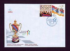 2009 Armenia Double Champion World Chess Olympiad FDC RARE Dresden Olympic