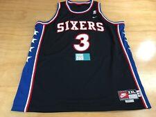 Nike NBA 1977 Philadelphia Seventy Sixers #3 Allen Iverson Basketball Jersey