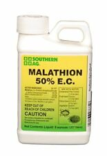 Southern Ag Malathion 50% E.C. 8 oz Insecticide Citrus, Fruits, Vegetables Trees