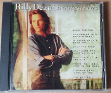 Billy Dean Greatest Hits - CD 1994 - 10 Country Songs - Sehr gut erhalten