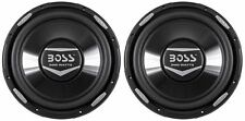"(2) Boss Audio Armor AR12D 12"" 4800 Watt Dual 4 Ohm Car Stereo Subwoofers Subs"