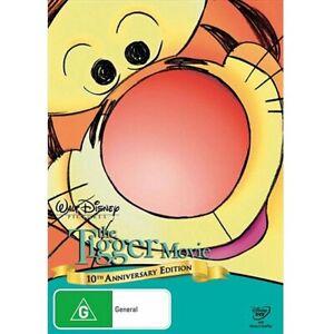 The Tigger Movie (DVD, 2010) PAL Region 4 (10th Anniversary Edition) New/Sealed