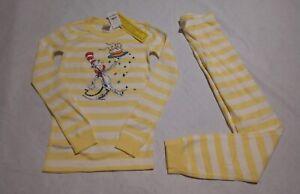 NWT Hanna Andersson Dr. Seuss Birthday Pajamas PJs 2PC 130 8 Kids Unisex