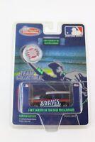 Atlanta Braves MLB Baseball 2000 GMC Yukon 1:64 Scale Ltd Ed w/Coin White Rose