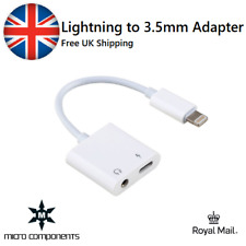 2 in 1 Lightning Adapter Headphone Jack Splitter Audio Cable For iPhone 11 X 8 7