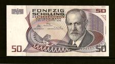 50 Schilling - Banknote  Sigmund  FREUD, 1988   K616178L    Kfr. -  unz. /  Unc.