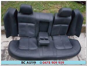 Ford BF Fairlane Ghia Leather Seat Black Back Rear 2005 2006 2007 BA 2004 2003