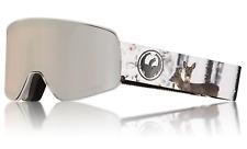 NEW Dragon NFX2 Goggles-Realm-Lumalens Silver+Dark Smoke-SAME DAY SHIPPING!
