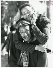 MARIO VAN PEEBLES MELVIN VAN PEEBLES PORTRAIT SONNY SPOON 1988 NBC TV PHOTO