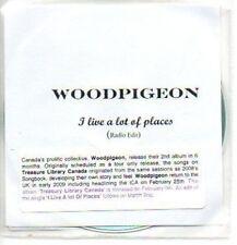 (984H) Woodpigeon, I Live a Lot of Places - DJ CD