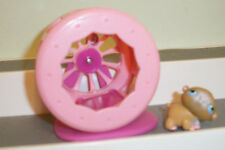 Littlest Pet Shop Lot Mouse w/ Exercise Wheel Playset Baby spinner