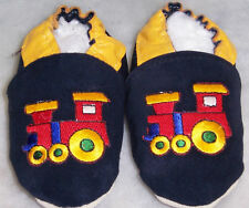 moxies SUEDE soft sole baby shoes TRAIN 18-24 slipper