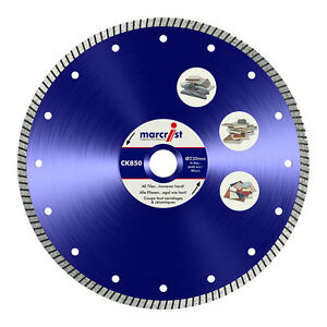 Marcrist CK850 Diamond Tile Saw - Wet Saw Blade/Disc 180mm - Diamond Tile Blade